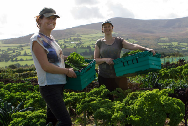 """What You Do Makes A Difference"" Meet Organic Farmers - Jenny & Janet!"