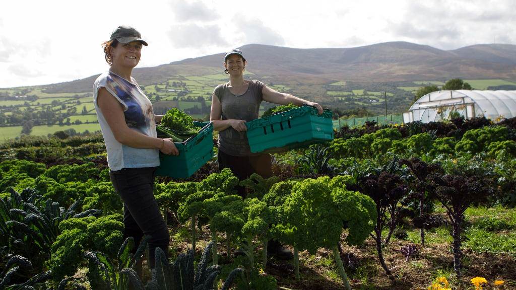 """What You Do Makes A Difference…"" Meet Organic Farmers – Jenny & Janet"