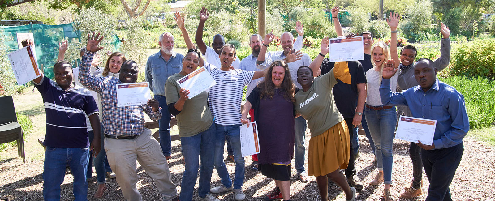 Training Future Organic Leaders in South Africa
